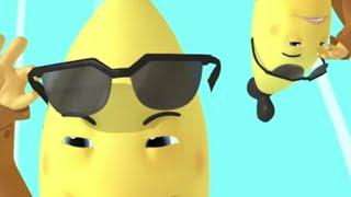 Shadey Bananas - Full Episode Jumble - Bananas In Pyjamas Official
