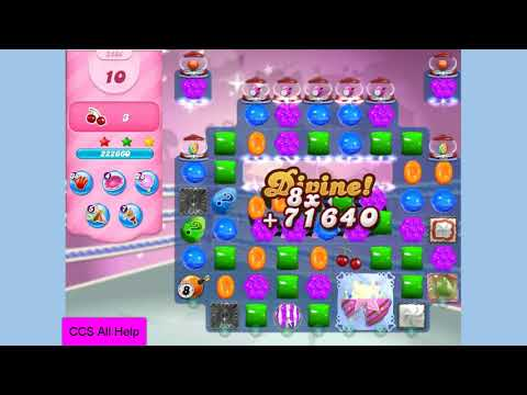 Candy Crush Saga Level 3404 NO BOOSTERS Cookie