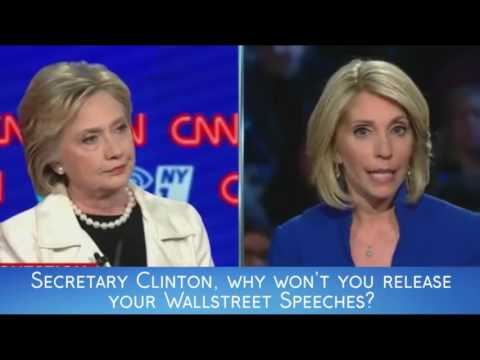 Why Not Release Your Wallstreet Speeches? (Democratic Debate 10 Highlight)