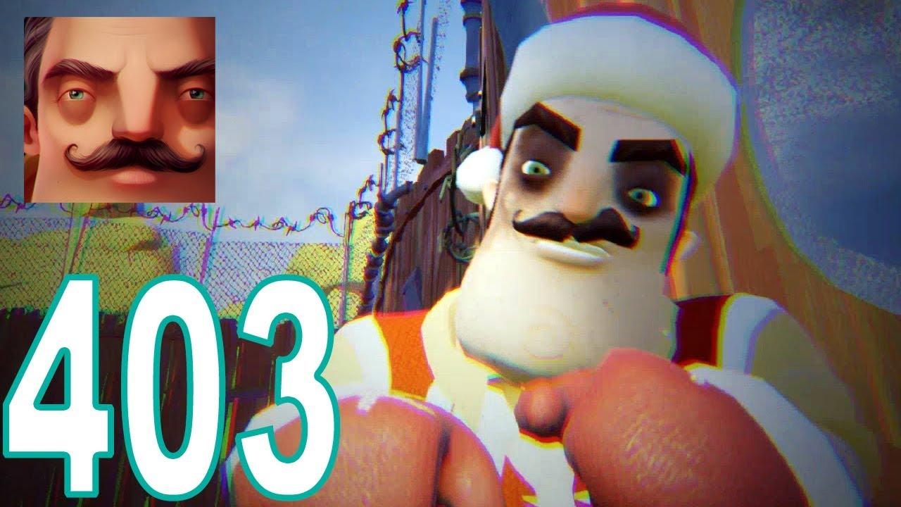 Hello Neighbor - My New Neighbor Santa Act 2 Boxes Gameplay Walkthrough  Part 402