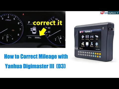 how to change digital odometer reading