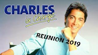 Charles in Charge 2019 reunion. Willie Aames, Jennifer Runyon, Ellen Travolta, Josie Davis