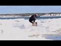 Brian Grubb Wakeskates Icebergs in Cape Cod | Xtreme CollXtion