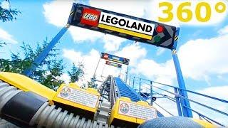 Roller Coaster 360° LEGO Project X Legoland - Samsung Gear 360 (2017) camera
