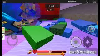 Mega Droid plays Super Bomb Survival on Roblox