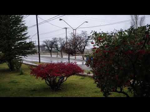 La Voz TV: nieve en Huincul