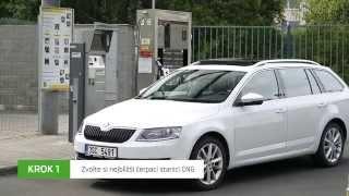 Doplňování paliva ve ŠKODA Octavia G-TEC thumbnail