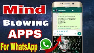 Top 5 Must Have Apps for WhatsApp on Android Hindi   WhatsApp Tips and Tricks