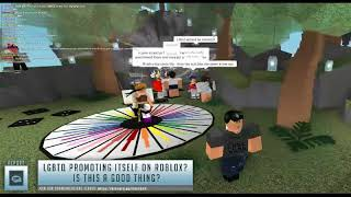 "LOGIC WARS NEWS REPORT: Roblox ""True Colors"" Community Advertising, Can this be good, or bad?"