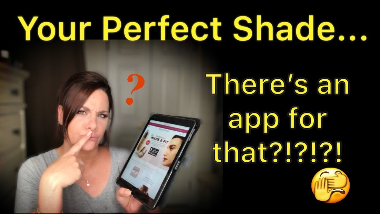 Perfect Foundation Match?! There's an app for that?!?!