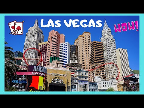 LAS VEGAS, the world famous NEW YORK-NEW YORK HOTEL and CASINO (Nevada, USA) - YouTube