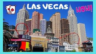 The world famous New York-New York  Hotel and Casino, Las Vegas