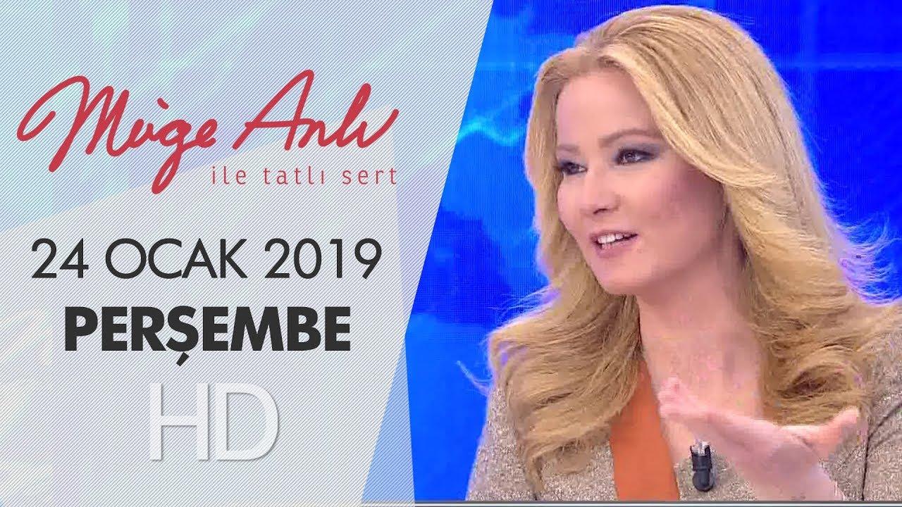 Müge Anlı ile Tatlı Sert 24 Ocak 2019 | Perşembe