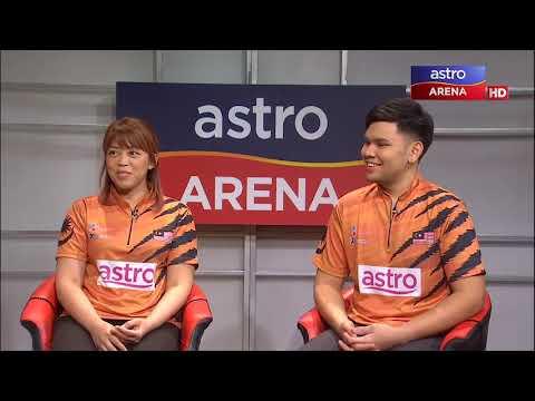 Forum: Bowling Terbuka Malaysia 2019 | Rafiq Ismail & Siti Safiyah | Astro Arena