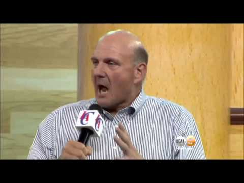 Steve Ballmer Introduced As New Owner Of Los Angeles Clippers