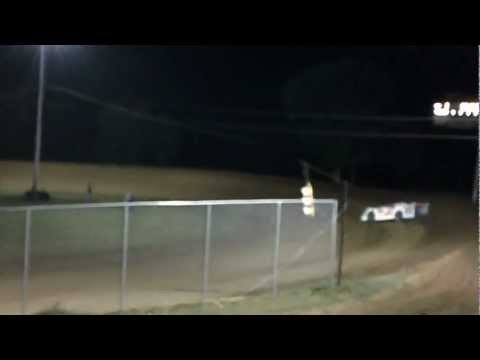 Chub Frank Qualifying at North Alabama Speedway 2012 WoO Race