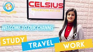 Study, Work, Travel the world with Celsius Educations!