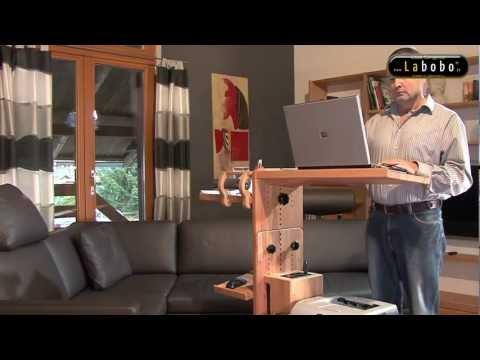 Der erste mobile, individuell ergonomisch gestaltbare Laptoptisch ...