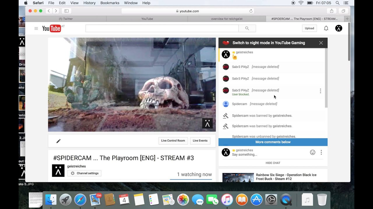 How To Block Unblock On Youtube Live Stream Chat