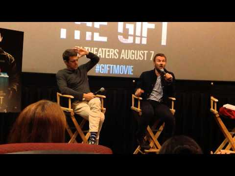 THE GIFT Joel Edgerton and Jason Blum post-screening San Francisco Q&A