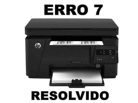 #M127 Erro 7 HP M125 - RESOLVIDO