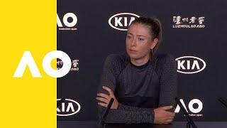 Maria Sharapova press conference (4R) | Australian Open 2019