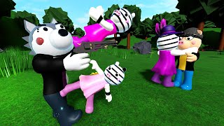 Roblox Piggy - Zee and Zuzy Fight TSP to save Zizzy! Book 2 Chapter 4 Animation Theory