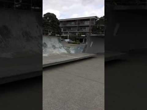 Jake Browns bay skatepark