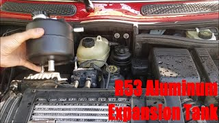 homepage tile video photo for R53 Mini Cooper S Aluminum Expansion Tank