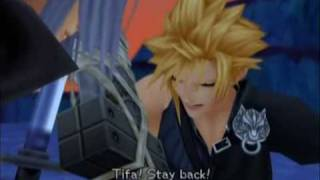 Kingdom Hearts 2 Sephiroth vs Cloud