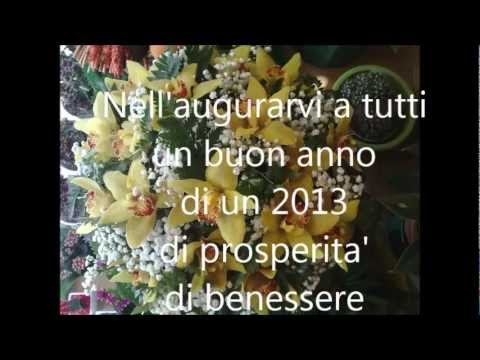 Conosciuto Sergio Bruni Canta Buon anno buona fortuna Video di Auguri 2013  WF57