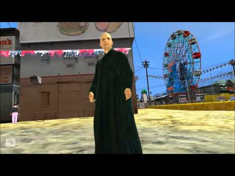 GRAND THEFT AUTO IV  HARRY POTTER AND LORD VOLDEMORT 1080p