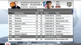 FIFA 08 MODO DIRIGENTE #1
