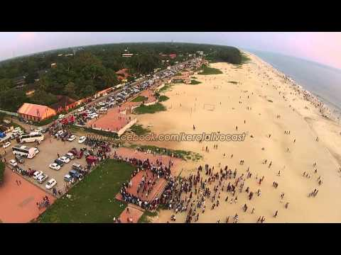 Alappuzha Beach HeliCam Arieal View | The Venice Of The East
