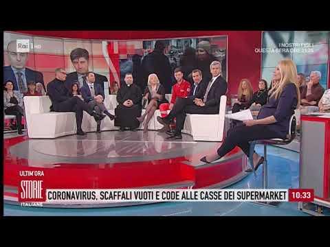 Coronavirus: assalto ai supermercati - Storie italiane 25/02/2020
