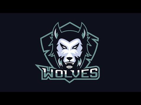 Adobe Illustrator - Wolves E-sport / Team Logo Speedart - YouTube