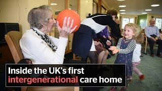 How children and elderly people come together in UK