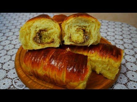 Самые нежные  пышные и ароматные булочки рецепт дрожжевое тесто Булочки на Ореховый Спас