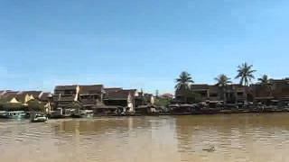 Hoian Bike Tour Boat Trip On Hoian River To Kim Bong Village_part2.flv