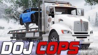 Dept. of Justice Cops #615 - Tow Truck Duties