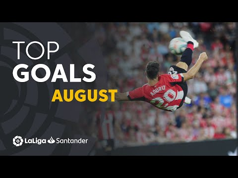 TOP Goles Agosto LaLiga Santander 2019/2020