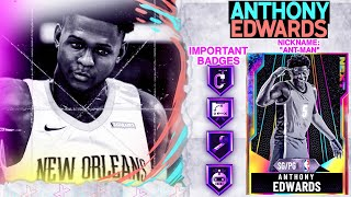 GALAXY OPAL ANTHONY EDWARDS GAMEPLAY! A MUST HAVE CARD ON NBA 2k20 MyTEAM