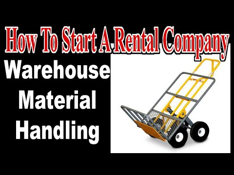 Material Handling Equipment - Start An Event Rental Business