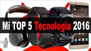 Mi TOP 5 productos de tecnología Navidad 2016