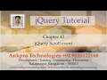 jQuery 43 - Events 13 - Scroll events -scroll(), scrollLeft(), scrollTop()