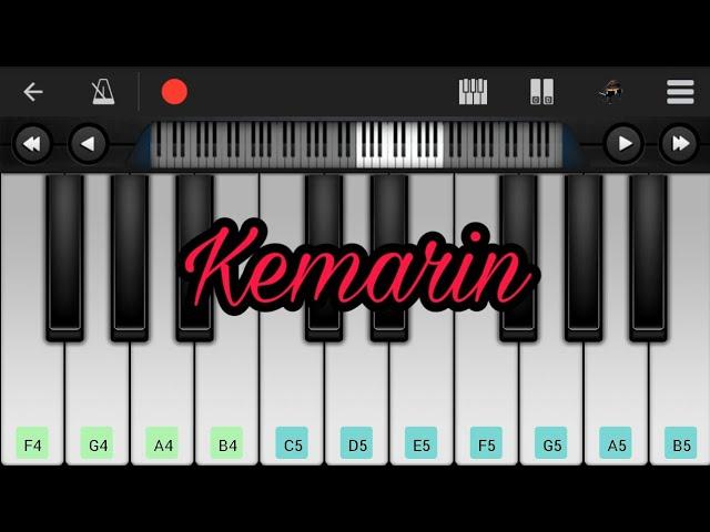 Kemarin Seventeen Perfect Piano Chords Chordify