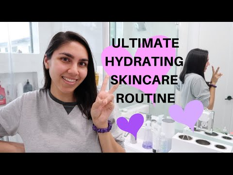 GET UNREADY WITH ME: Hydrating Skincare Routine | KAYA EMPIRE