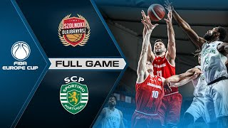 Szolnoki Olajbanyasz V Sporting CP | Full Game - FIBA Europe Cup 2020-21
