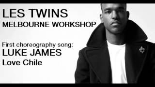 Les Twins Australia Tour | Melbourne Workshop Song: Luke James - Love Chile