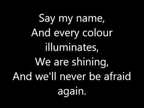 Florence and The Machine - Spectrum (LYRICS ON SCREEN)